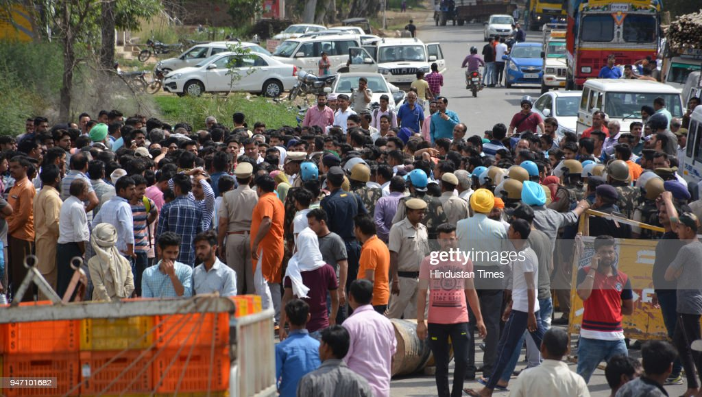 Gangster Bhupesh alias Bhupi Rana was shot dead by unidentified assailants on Monday morning at Barwala on April 16 2018 in Panchkula India The...