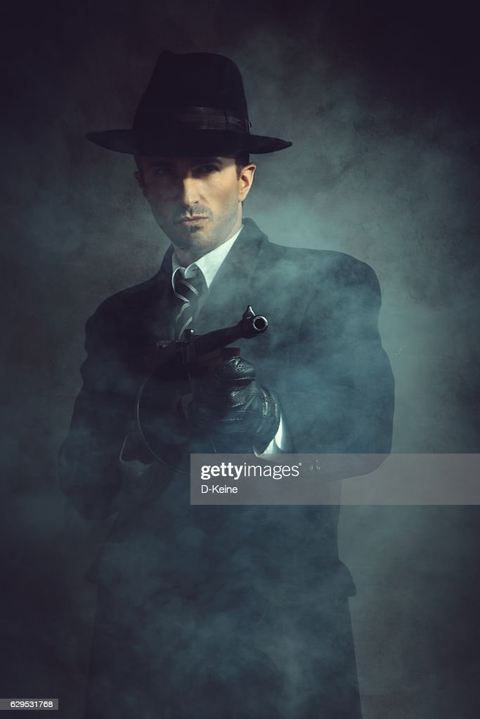Gangster : Stock Photo