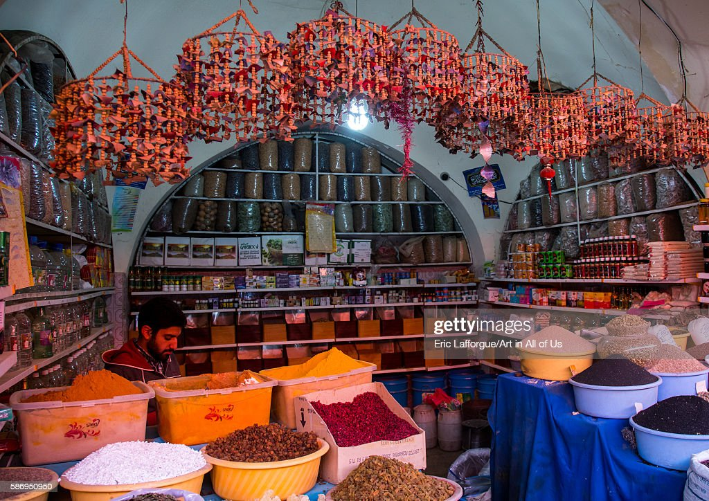 Ganjali Bazaar, Central County, Kerman, Iran : Nieuwsfoto's