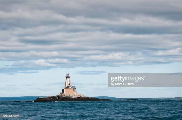 Gannet Rock Lighthouse, Grand Manan, New Brunswick, Canada