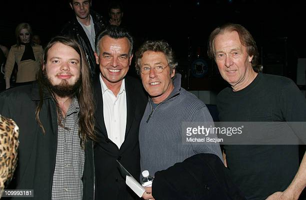 Gannon Wise Ray Wise Roger Daltrey and Spencer Davis