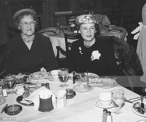 MAR 16 1960 MAR 17 1960 Gano Downs presented fashions at the Luncheon