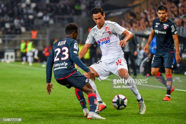 Ganso of Amiens during the Ligue 1 match between Amiens and Dijon at Stade de la Licorne on October 6 2018 in Amiens France