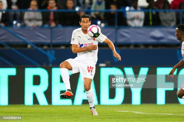 Ganso of Amiens during the Ligue 1 match between Caen and Amiens at Stade Michel D'Ornano on September 29 2018 in Caen France