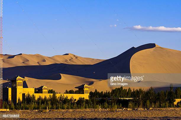 Gansu desert scenery