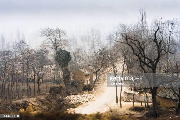 Gansu province landscape