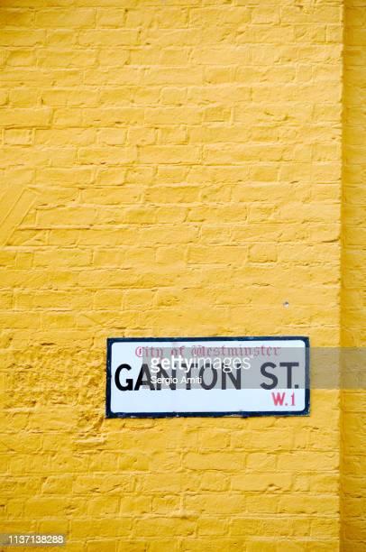 Ganton Street Sign