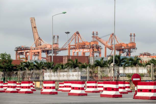 VNM: Views of Vietnam's Hai Phong Container Terminal
