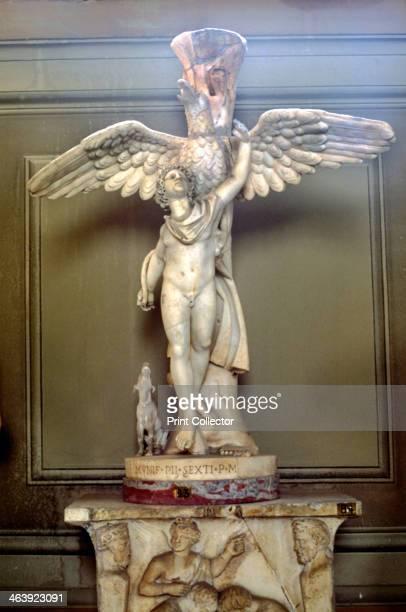 Ganymede Statue of Greek origin located in the Vatican Rome