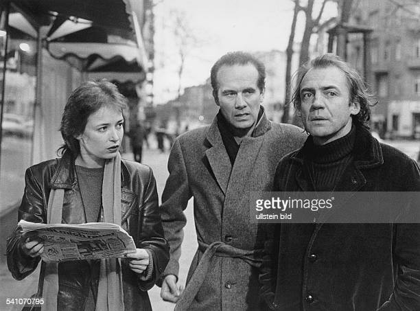 Ganz Bruno *Schauspieler Schweiz Dominique Laffin Hans Zischler und BG in dem Film 'System ohne Schatten' 1983