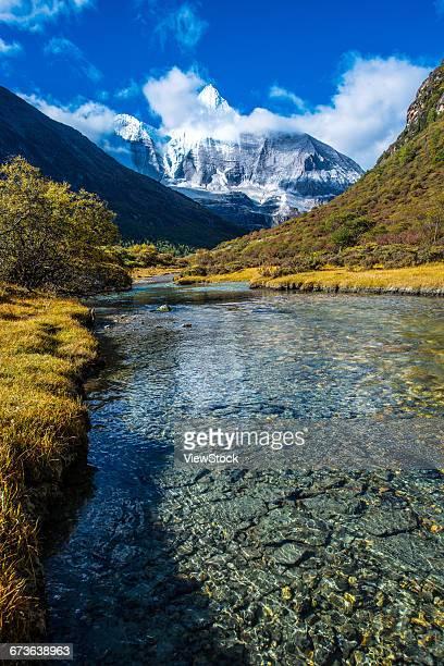 Ganzi Tibetan Autonomous Prefecture, Sichuan Province, Aden, Daocheng, the central Mai Yong snow mountain