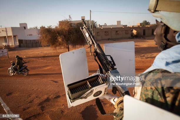 Gao Mail UN Peacekeepers from Senegal on an early morning patrol in Gao Mali on Sunday January 15 2017 Despite the end of the occupation many Malians...