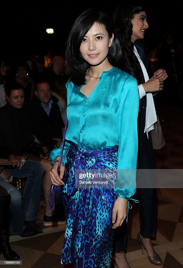 Salvatore Ferragamo: Front Row - Milan Fashion Week Womenswear Autumn/Winter 2012/2013