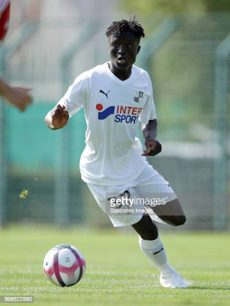 Gaoussou Traore of Amiens SC during the Club Friendly match between Amiens SC v UNFP FC at the Centre Sportif Du Touquet on July 13 2018 in Le...
