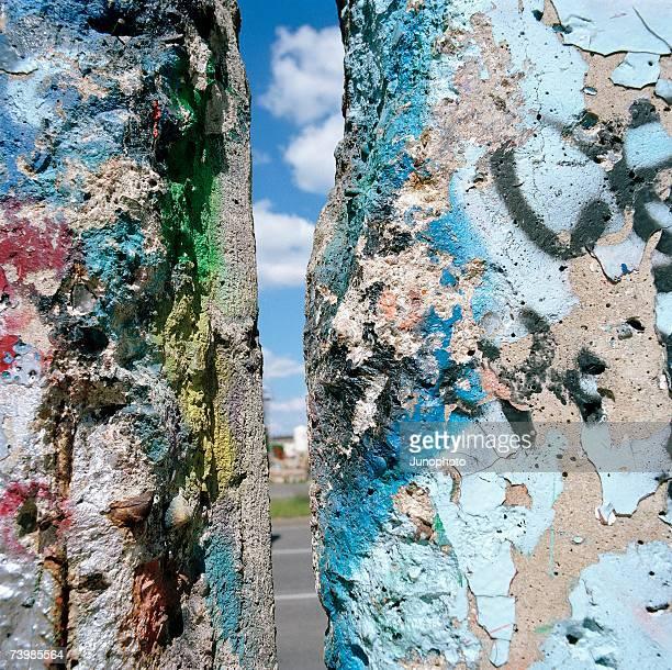 Gap in the Berlin Wall, Germany
