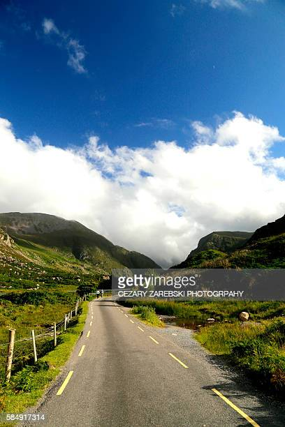 gap of dunloe - ring of kerry stock photos and pictures