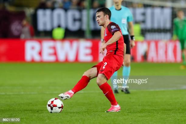 Gara Garayev of Azerbaijan in action during the FIFA 2018 World Cup Qualifier between Germany and Azerbaijan at FritzWalter Stadium on October 8 2017...