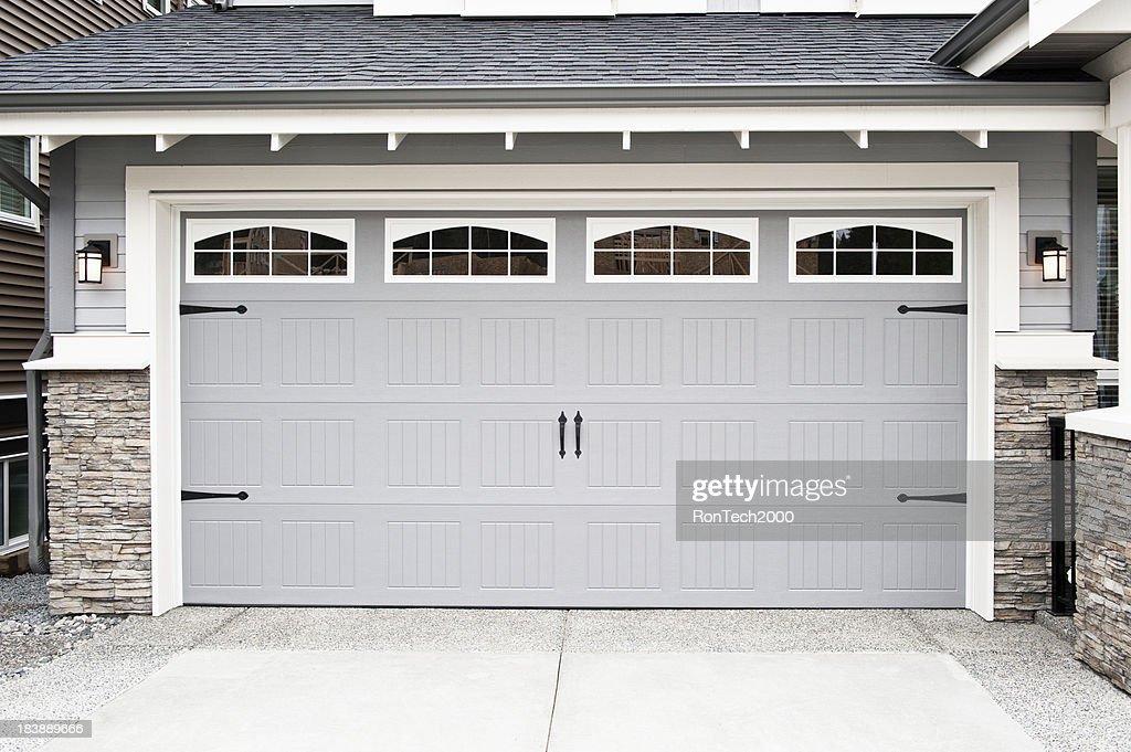 Garage Door : Stock Photo