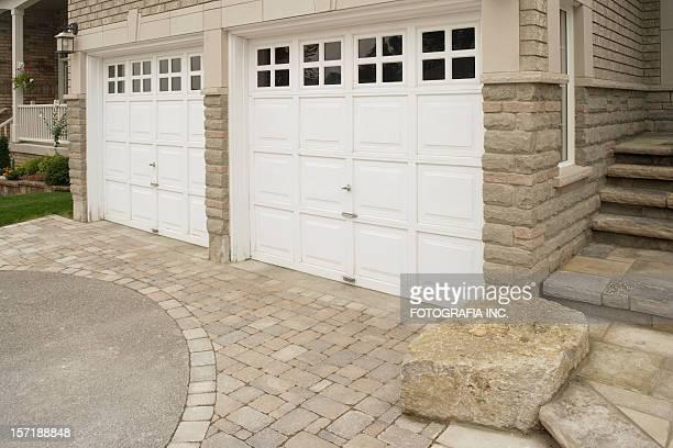 ガレージのドア
