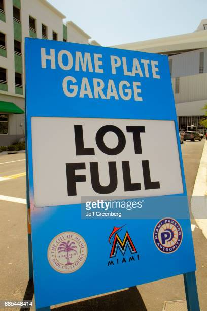 A Garage Lot Full Sign At Marlins Park News Photo Getty Images