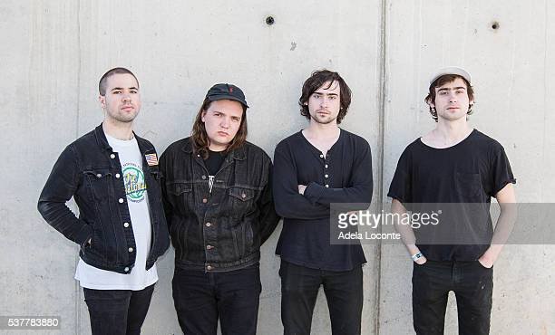 Garage Punk band from Louisville Kentucky White Reaper attends the Primavera Sound on June 2 2016 in Barcelona Spain