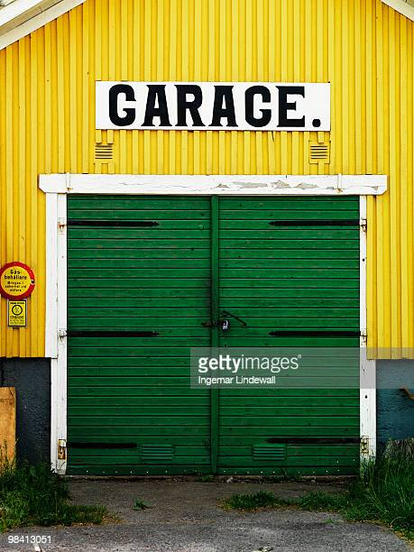 a garage sweden. - auto repair shop exterior stock pictures, royalty-free photos & images