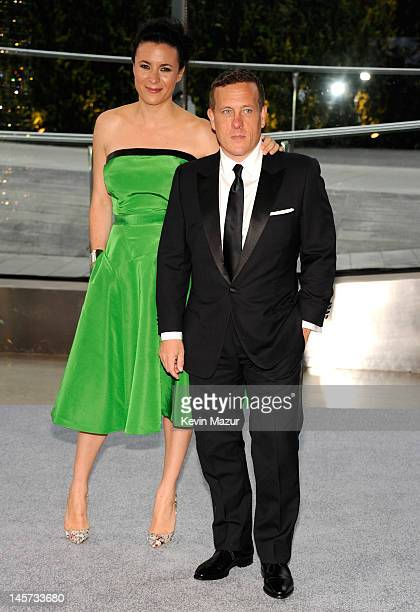 Garance Dore and Scott Schuman attend 2012 CFDA Fashion Awards at Alice Tully Hall on June 4 2012 in New York City