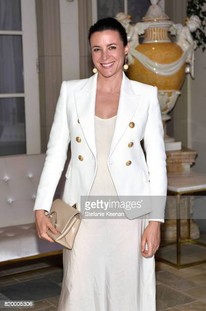 Garance Dore at BALMAIN celebrates first Los Angeles boutique opening and Beats by Dre collaboration on July 20 2017 in Beverly Hills California