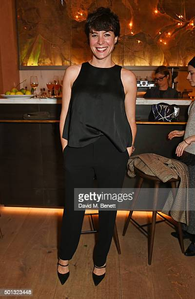 Garance Dore attends a private VIP dinner hosted by Club Monaco and Garance Dore in celebration of the 'Love Style Life' book tour at Spring at...