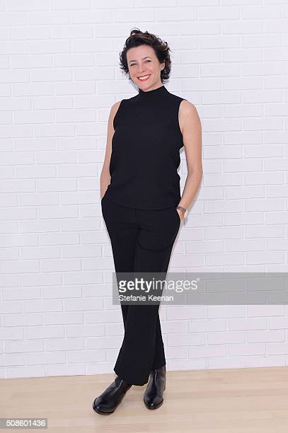 Garance Dore attends Jenni Kayne Fall 2016 Collection Launch Dinner on February 4 2016 in Los Angeles California