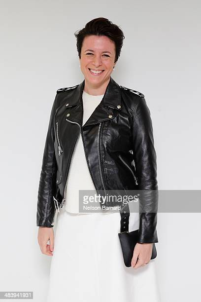 Garance Dore attends the Tiffany Debut of the 2014 Blue Book on April 10 2014 at the Guggenheim Museum in New York United States