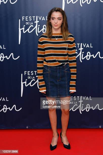 Garance Marillier attends day 2 photocall of 20th Festival of TV Fiction on September 13 2018 in La Rochelle France