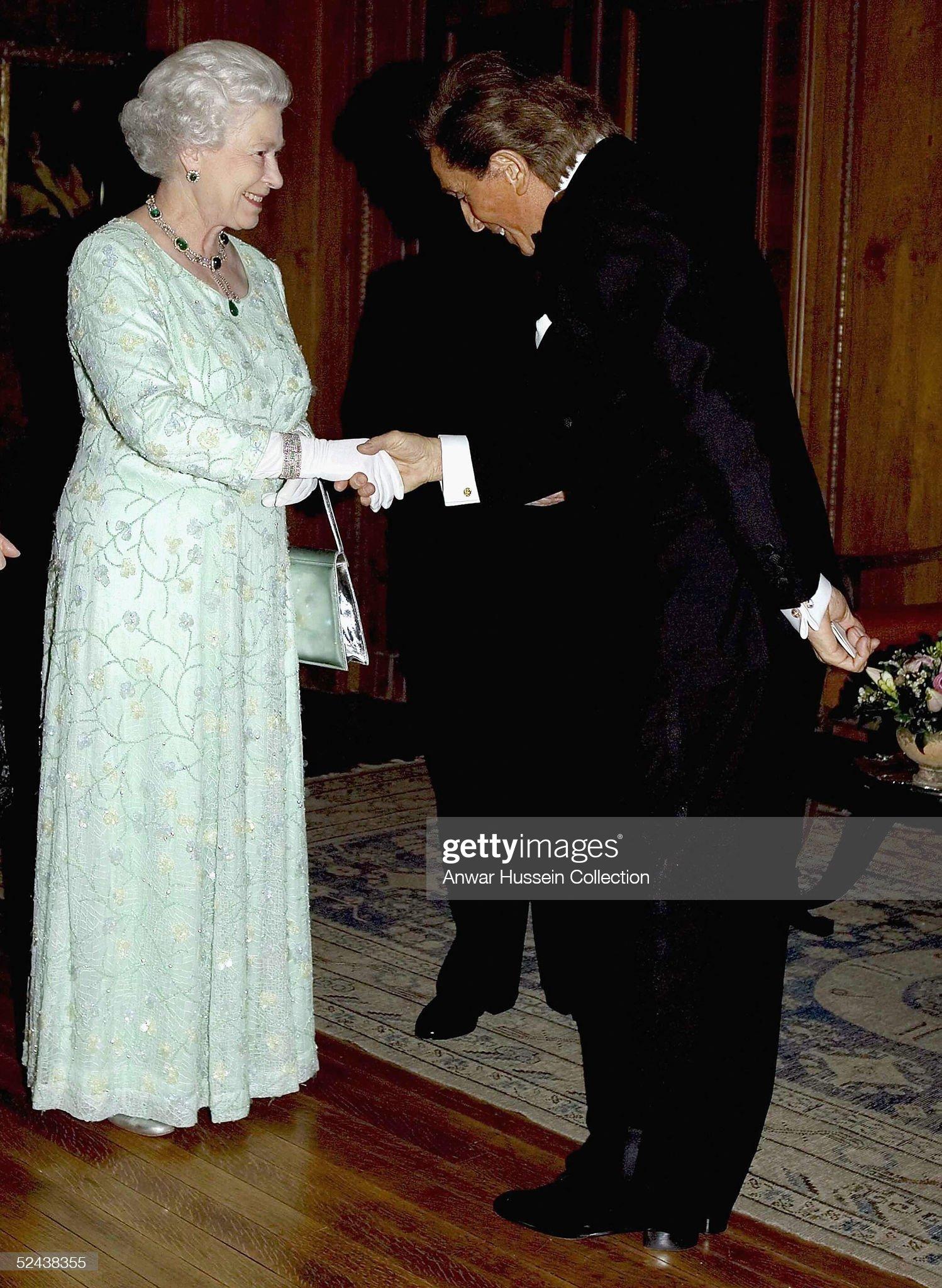Banquet Honouring The Italian Republic Presidents Visit : News Photo