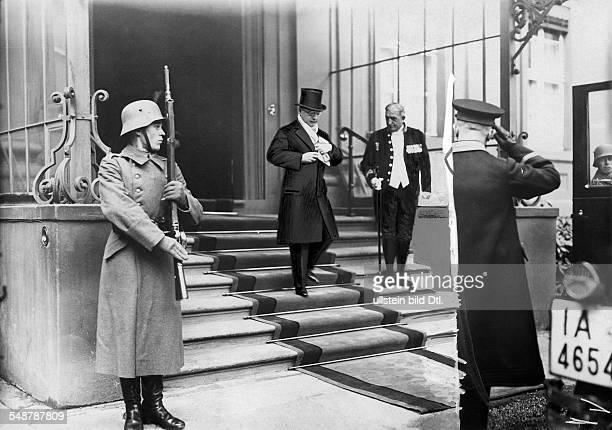 Garay, Narciso - Diplomat, PA *12.06.1876-+ - ambassador of the Republic of Panama - literary man - ca. 1929 - Photographer: Alfred Gross - Published...