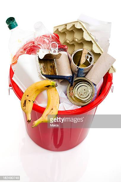 garbage bin - garbage can stock photos and pictures