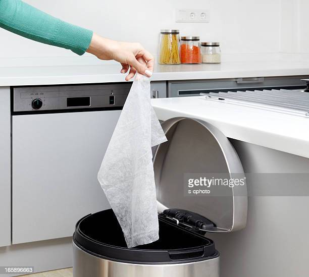 Garbage Can In The Kitchen (Click for more)