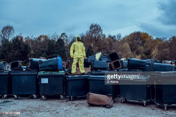 garbage dump - biochemical weapon stock pictures, royalty-free photos & images