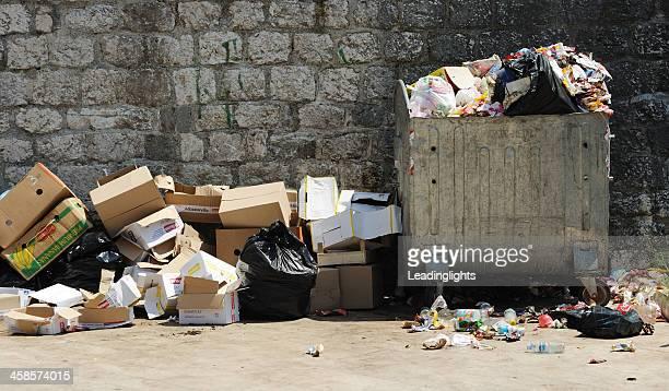 Garbage in Montenegro