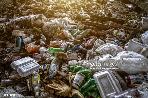 garbage, pollution, global warming - water pollution stock pictures, royalty-free photos & images