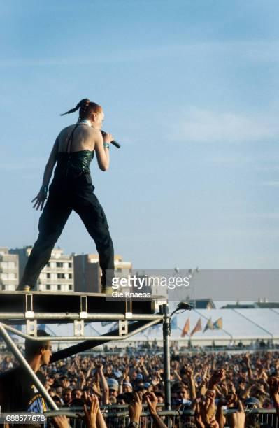 Garbage Shirley Manson Beach Rock Festival Zeebrugge Belgium