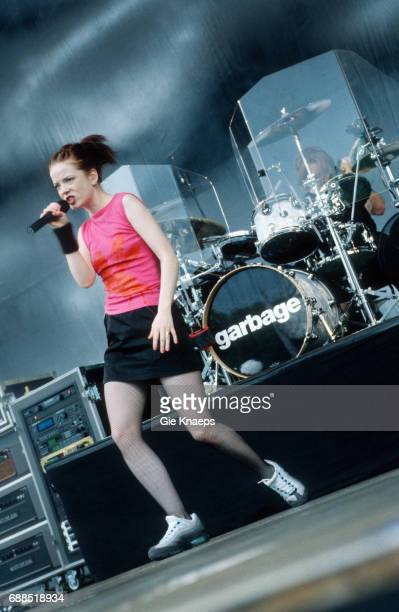 Garbage Shirley Manson Butch Vig TorhoutWerchter Festival Werchter Belgium