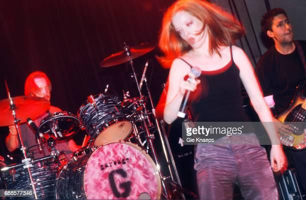 Garbage Shirley Manson Butch Vig Vaartkapoen Brussels Belgium
