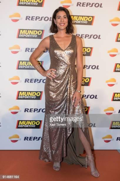 Garbiñe Muguruza attends the photocall of the 70th Mundo Deportivo Gala on February 5 2018 in Barcelona Spain