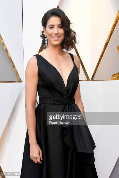 Garbine Muguruza attends the 90th Annual Academy Awards at Hollywood Highland Center on March 4 2018 in Hollywood California