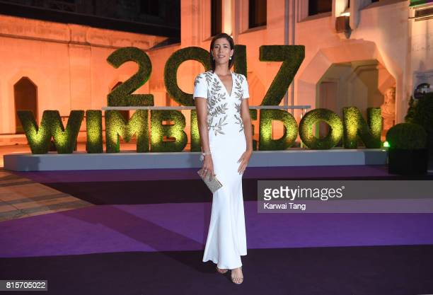 Garbine Muguruza attends the Wimbledon Winners Dinner at The Guildhall on July 16 2017 in London England