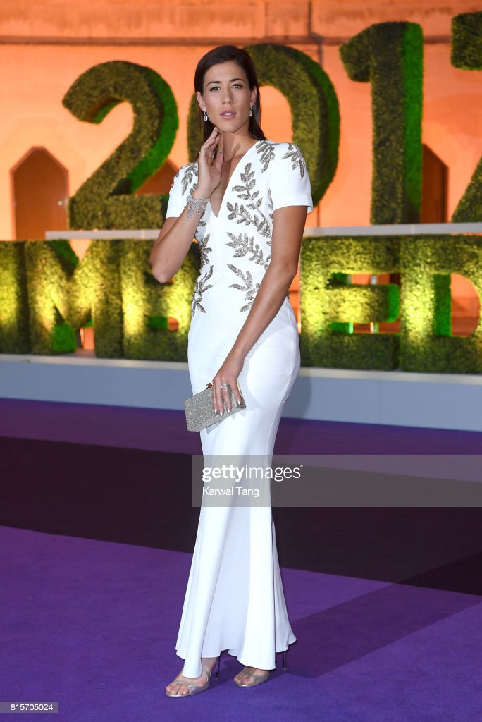 Garbine Muguruza attends the Wimbledon Winners Dinner at The Guildhall on July 16, 2017 in London, England.