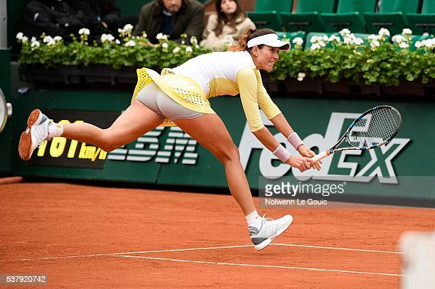 Garbine Muguruza during the day thirteen of the French Open 2016 on June 3 2016 in Paris France