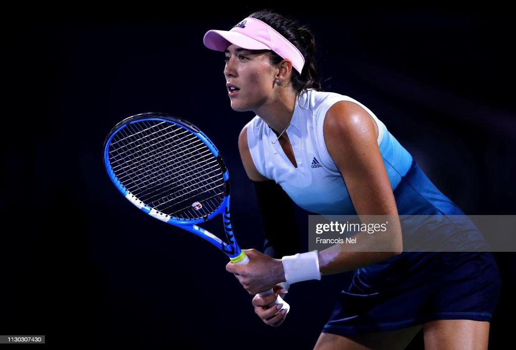 Dubai Duty Free Tennis Championships - Day One : News Photo