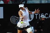 garbine muguruza spain plays shot during