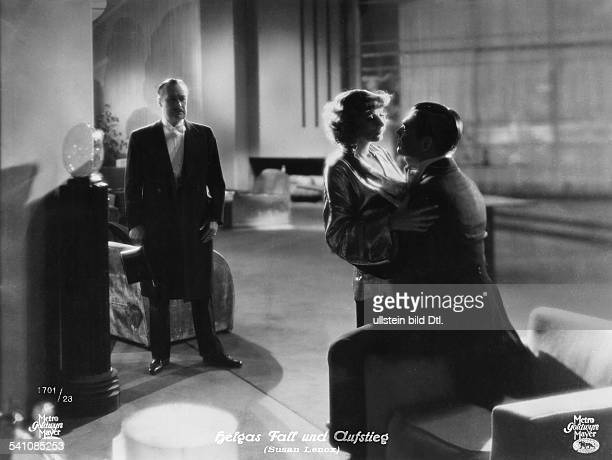 Garbo Greta Actress Sweden * Garbo with Clark Gable in the film 'Susan Lenox Her Fall and Rise' Directed by Robert Z Leonard USA 1931 Film Production...